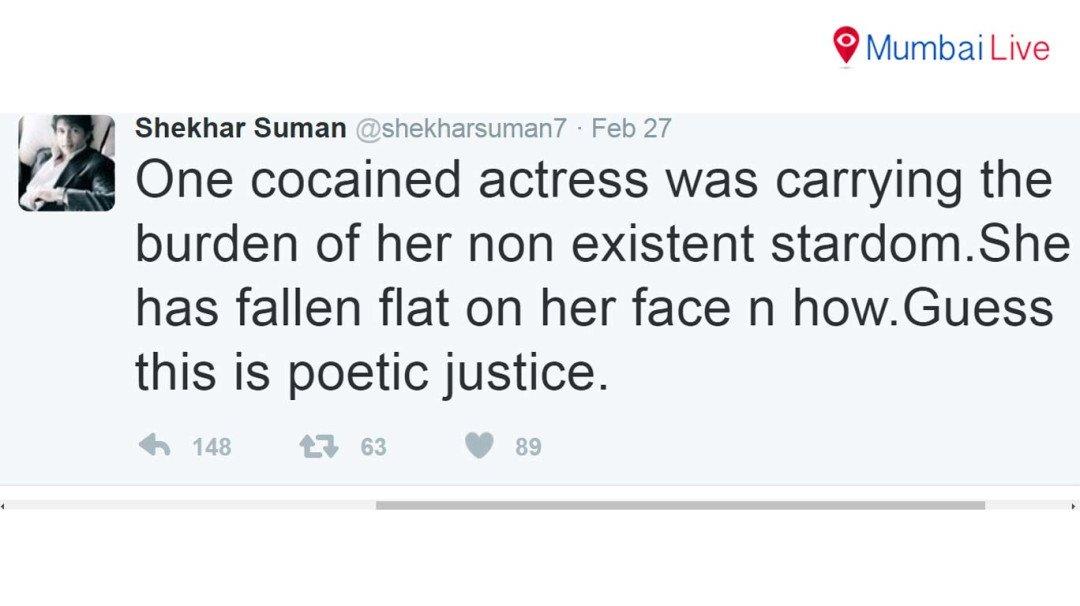 Shekhar Suman takes a dig at Queen