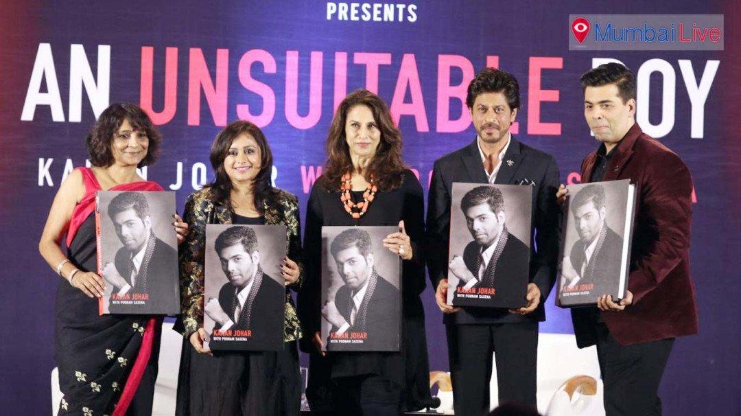 Karan not an Unsuitable Boy-SRK