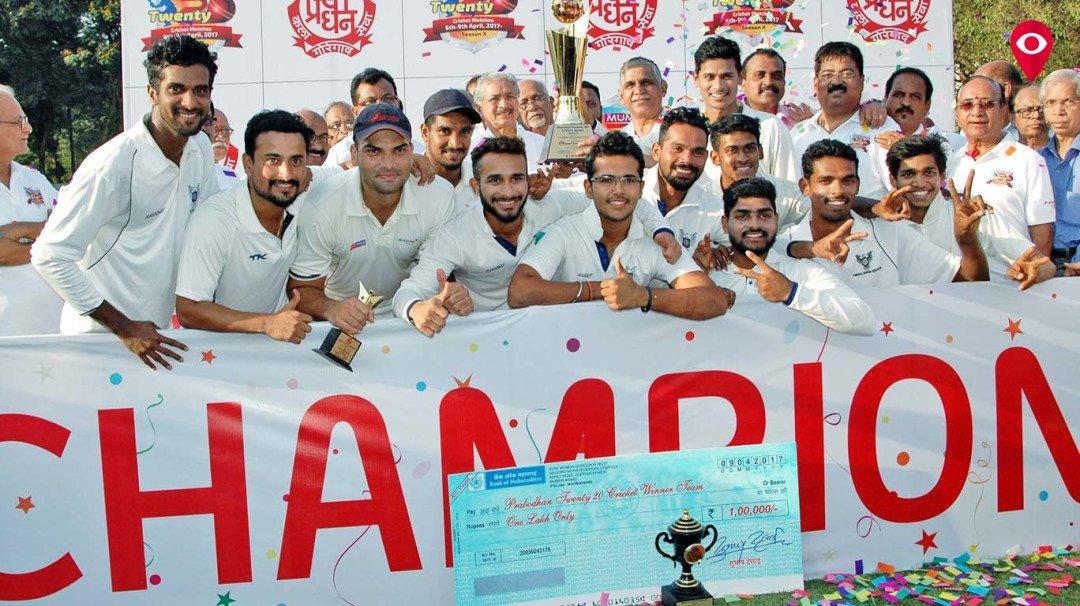 प्रबोधन मुंबई टी-20 क्रिकेट स्पर्धेत कर्नाटकला विजेतेपद