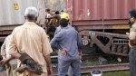 कसारा में मालगाड़ी पटरी से उतरी, मध्य रेल लड़खड़ाई