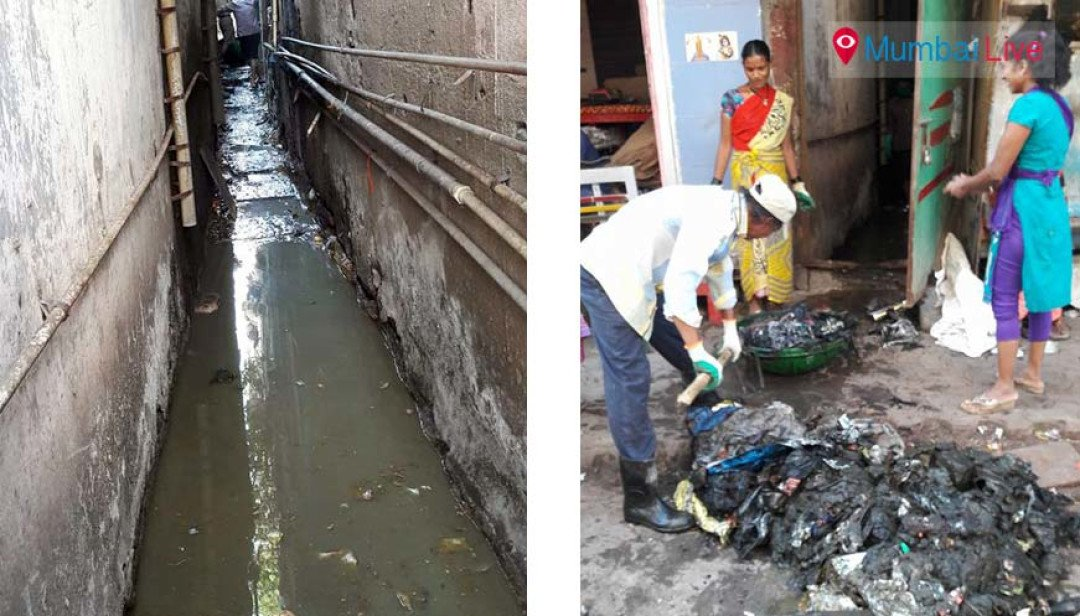 SS initiates nullah cleaning at Khetwadi