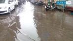 कुंभारवाड्यात साचले पाणी