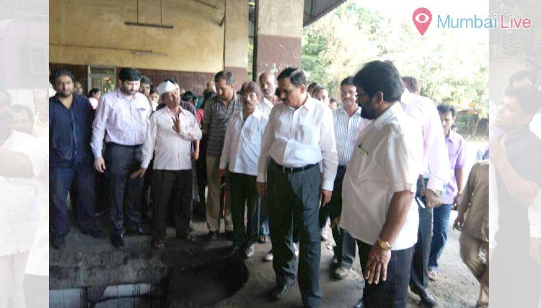 Raote visits Nehru Nagar ST depot