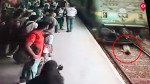 Girl walks away alive post train accident