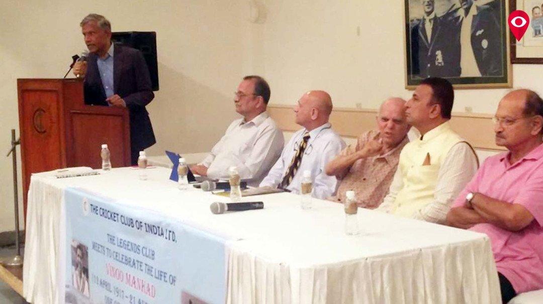 Legends Club celebrates Vinoo Mankad's birth centenary at CCI
