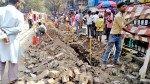 चेंबूरमध्ये खोदकाम, नागरिक त्रस्त