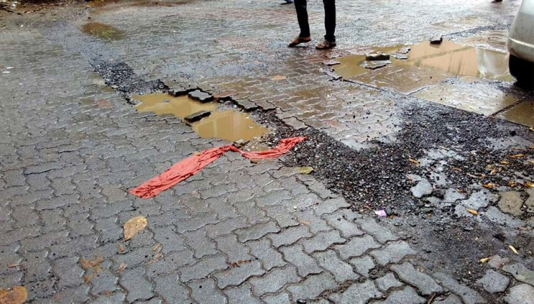No end to potholes woes
