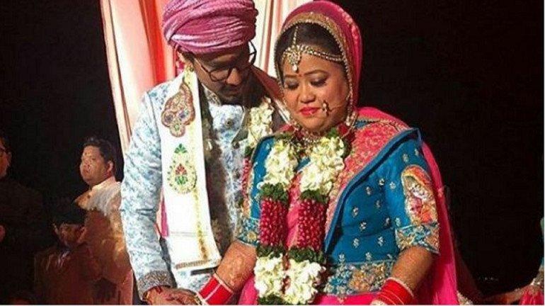 Bharti Singh and Haarsh Limbachiya's marriage pics
