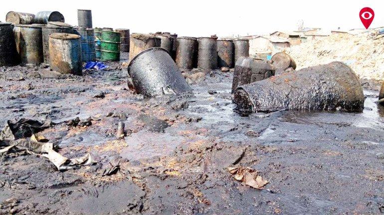 Mankhurd Police held 6 in illegal crude oil selling