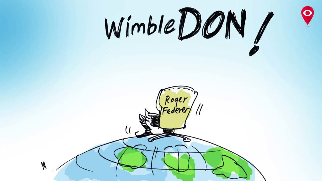 Roger Federer: Don of WimbleDON!