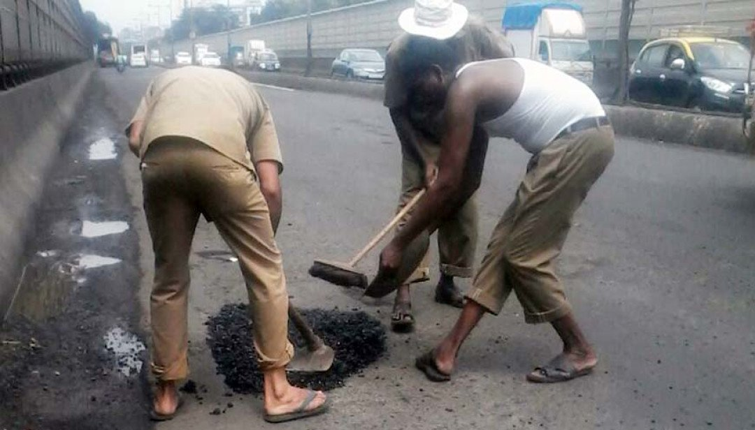 Mumbai Live impact; Potholes filled on flyovers