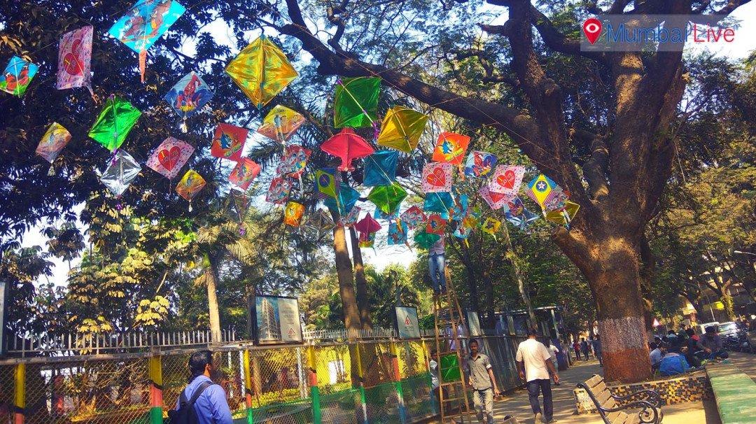 शिवाजी पार्क में मकरसंक्रांति सेल्फी प्वाइंट