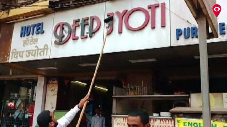 Struck by its love for Marathi, MNS shatters down a store in Kalyan