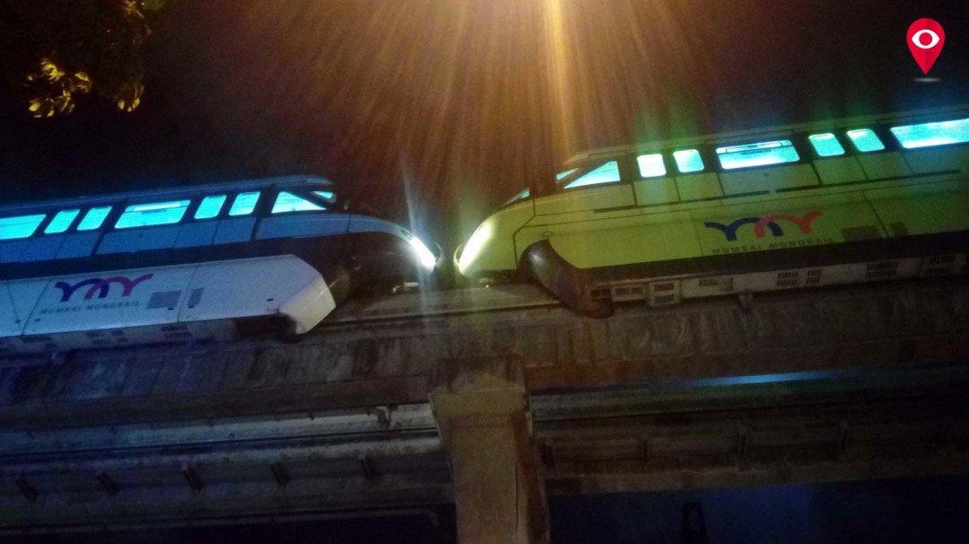 चेंबूरमध्ये मोनो समोरासमोर, अपघात की बचावकार्य?