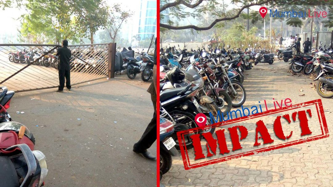 Mumbai Live Impact: BKC parking bays back in action