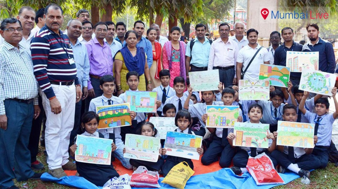Mayor announces winner of 'Majhi Mumbai' drawing competition