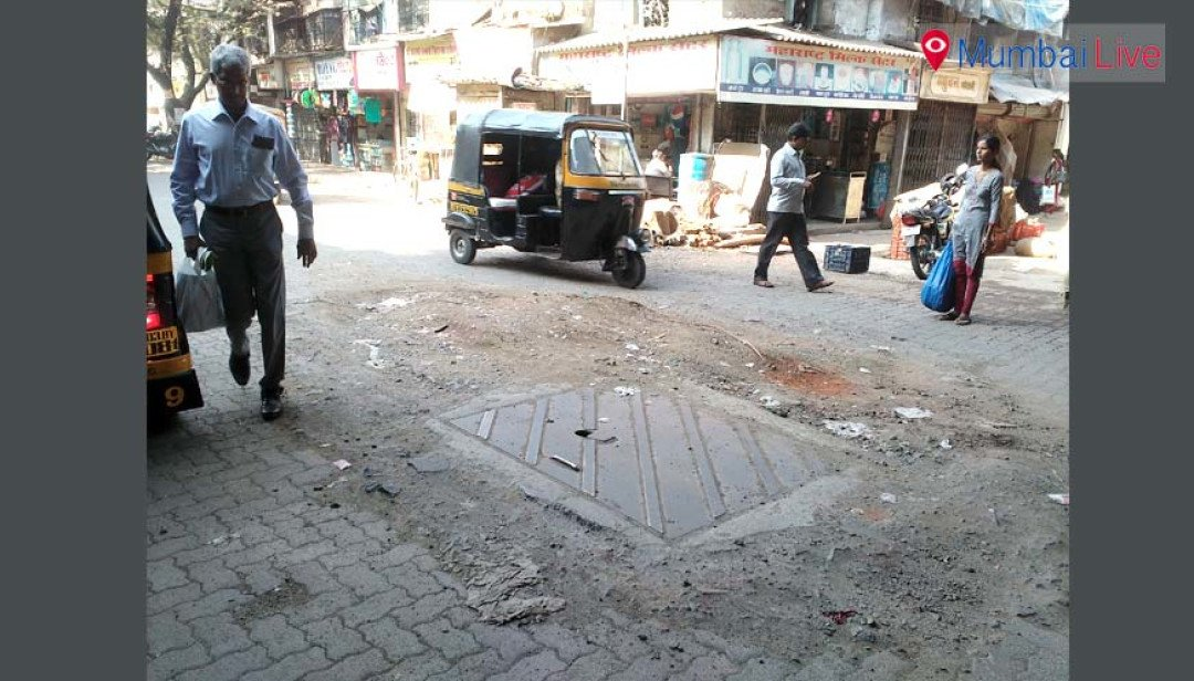 Manhole woes for the commuters