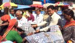 Blankets distributed in Mahalaxmi