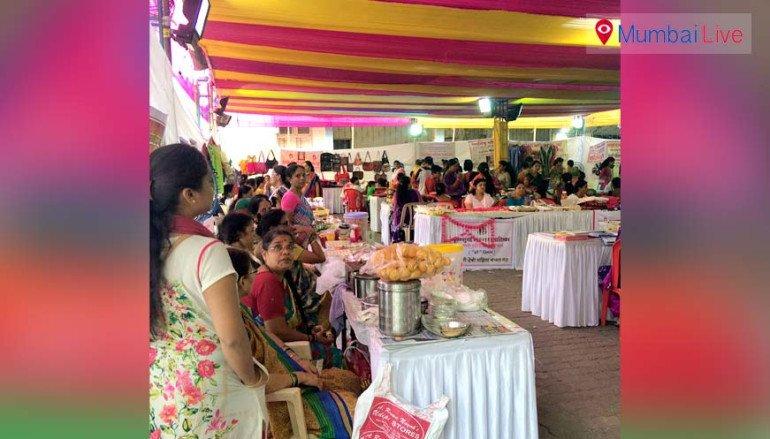 महिला बचत गट उत्पादित सामानों की प्रदर्शनी