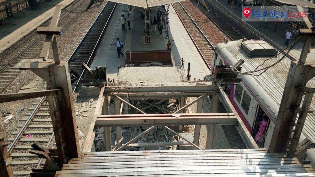 Under repair bridge woes