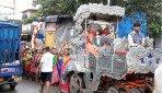 Residents lead Kalash Yatra
