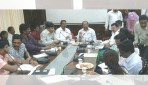 Gopal Shetty meets MHADA & BMC officers