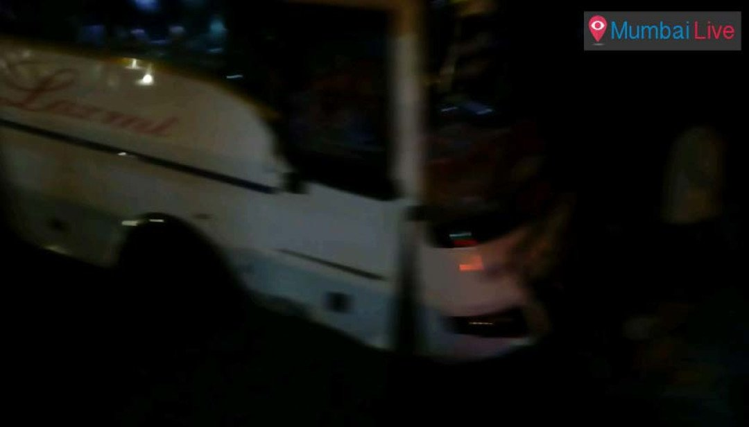 Bus mishap at Mankhurd