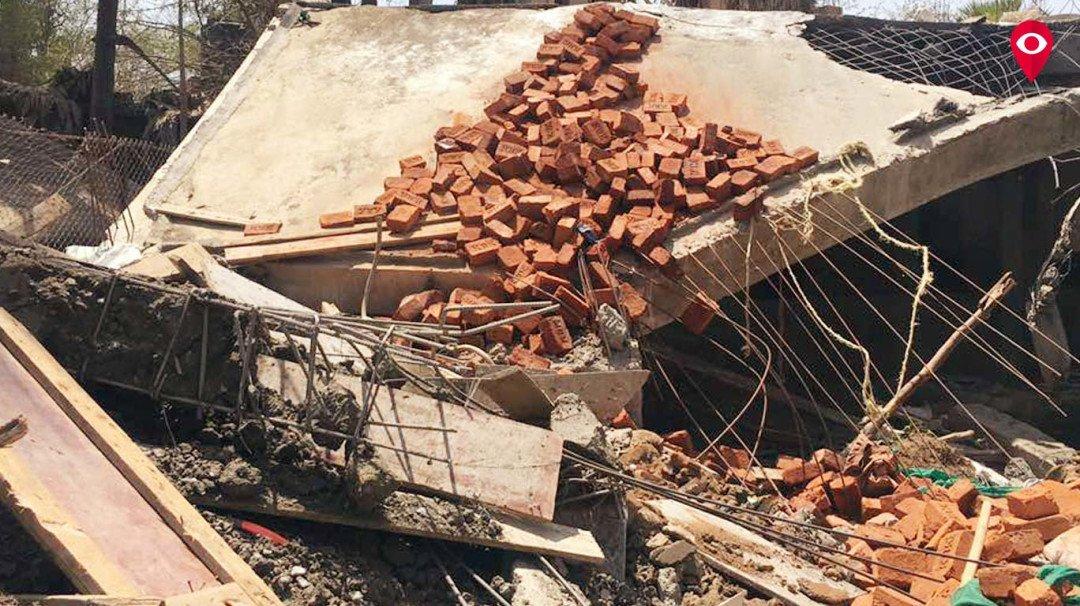 बीएमसी ने मनोरी में अनधिकृत बंगले पर की तोड़क कार्रवाई