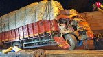 ट्रक से टकराई स्कॉर्पियो, 9 जख्मी