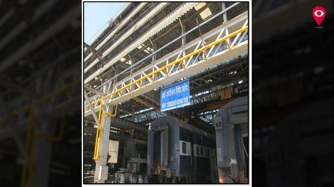 रेल्वे कारखान्यात प्रथमच नैसर्गिक गॅसचा वापर