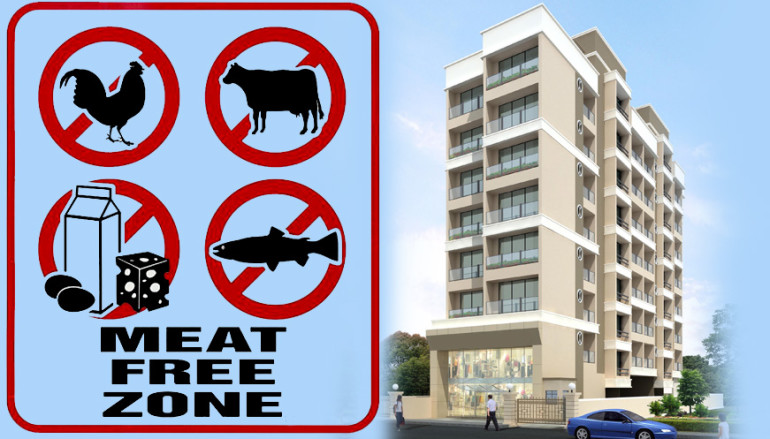 Want to buy flat in Mumbai? Go vegan