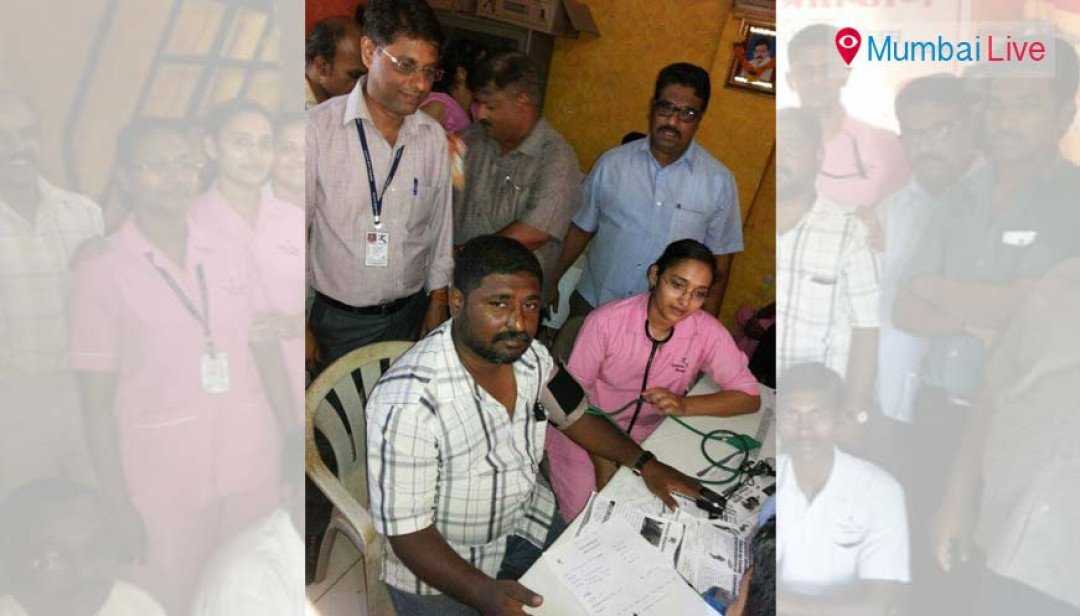 Sahyadri Pratisthan's free health check-up