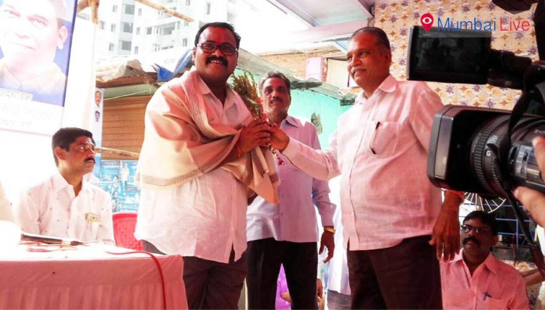 BJP leader holds health camp
