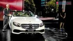 Mercs rolls out its long-wheelbase version of the E-Class