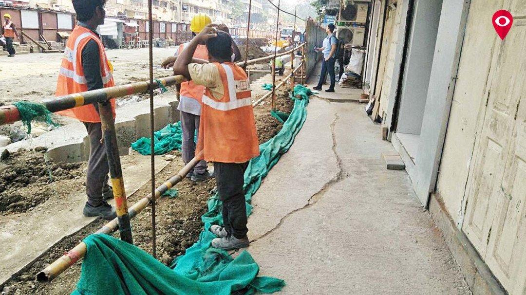Mahim-Dadar residents protest against Metro-3 construction