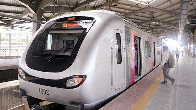mumbai metro मेट्रोसाठी आणखी १२ गाड्या; एकूण संख्या ९६ वर