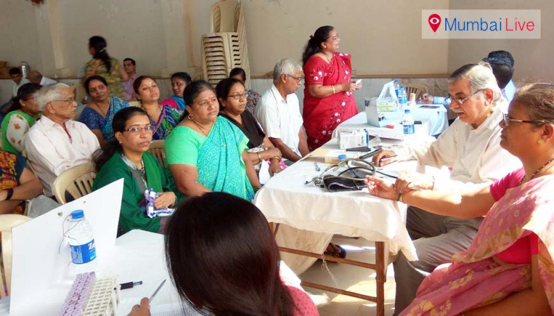 Medical Camp in Worli