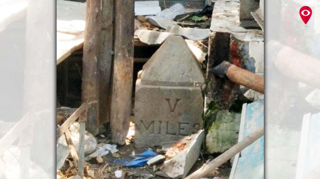 परळला सापडला मैलाचा दगड