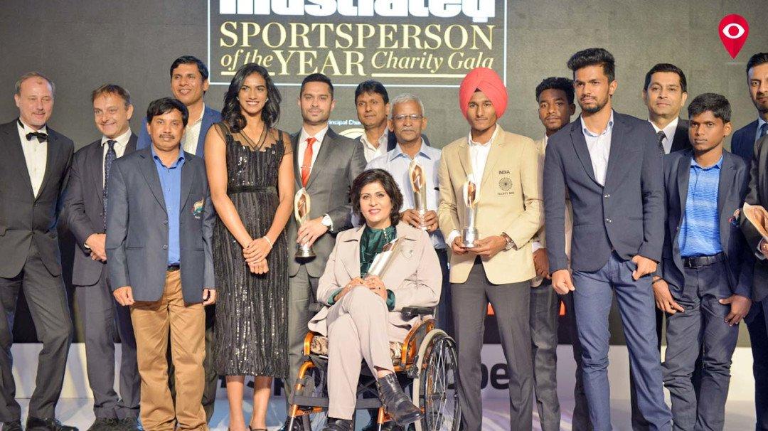 PV Sindhu, Abhinav Bindra and Milkha Singh bag awards