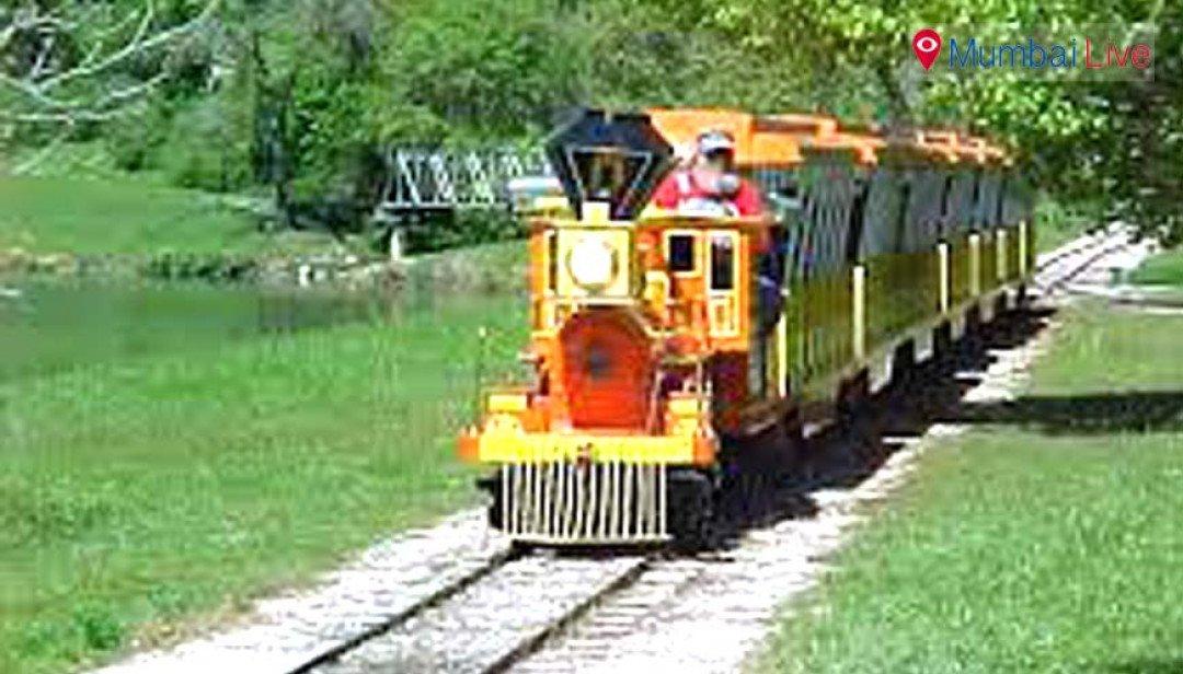 Toy Train in Santa Cruz