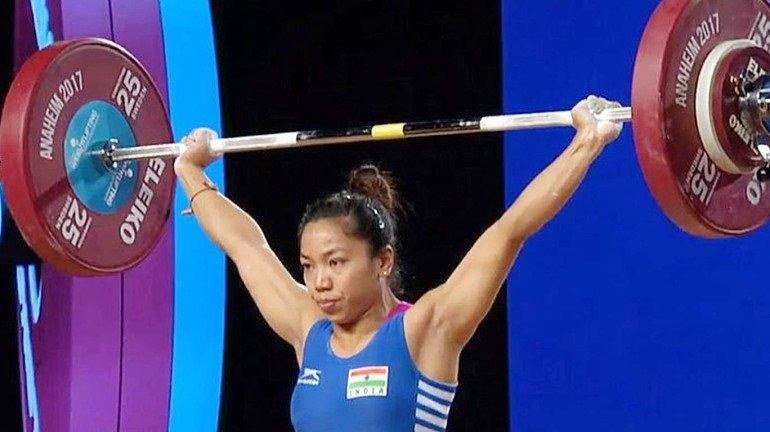 Mirabai Chanu wins gold at the World Weightlifting Championships