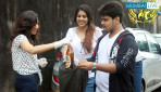 Mithibai College students clean up campus area