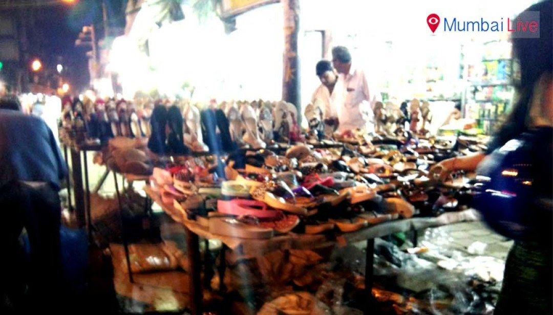 Night market at Mohammed Ali road