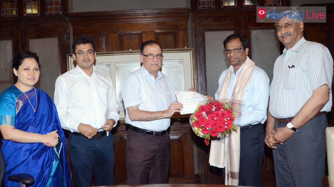Sanjog Kabre awarded employee of month