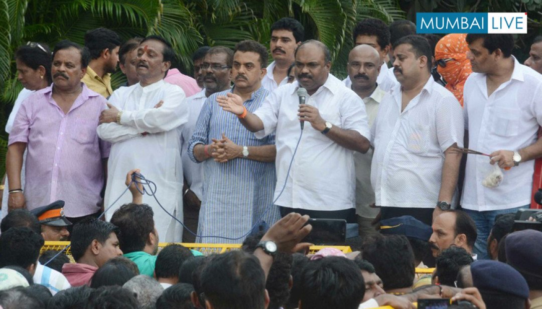 CSK Slum Protests against JVK