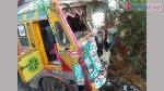 सोलापुर-हाईवे पर घटी भीषण दुर्घटना