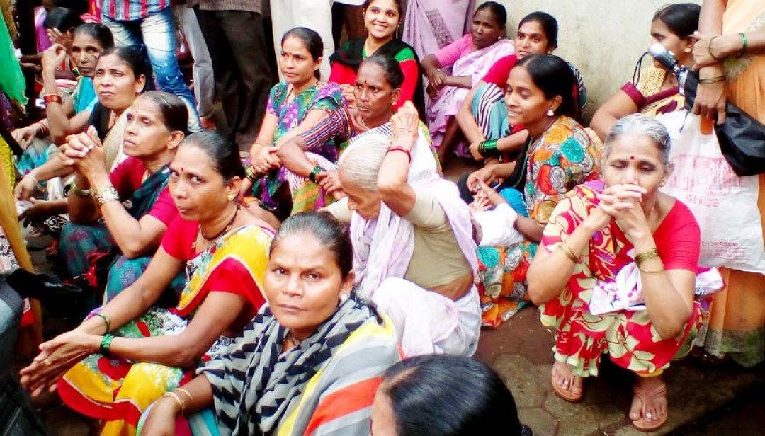 Residents demand rehabilitation