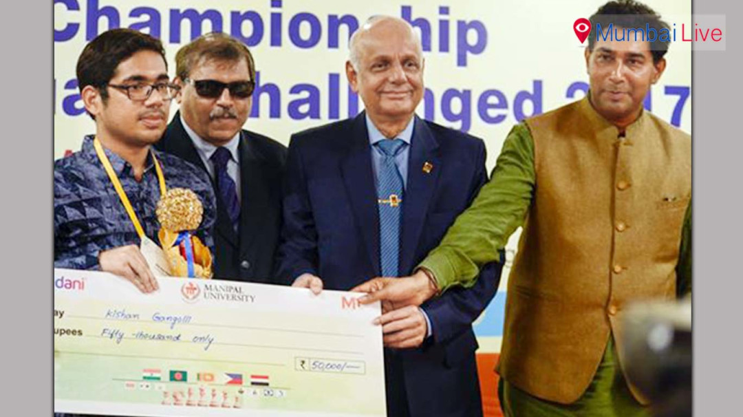 Mumbai's Swapnil Shah 5th at the Asian Chess Championship for the visually impaired