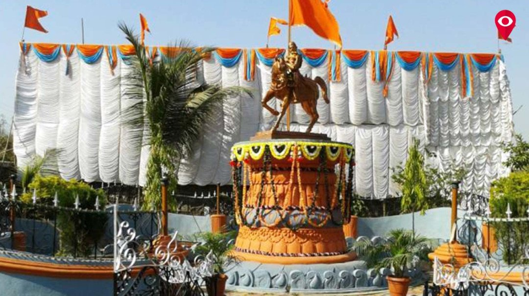 Shiv Sena demands restoration of Shivaji Maharaj's statue at the Airport