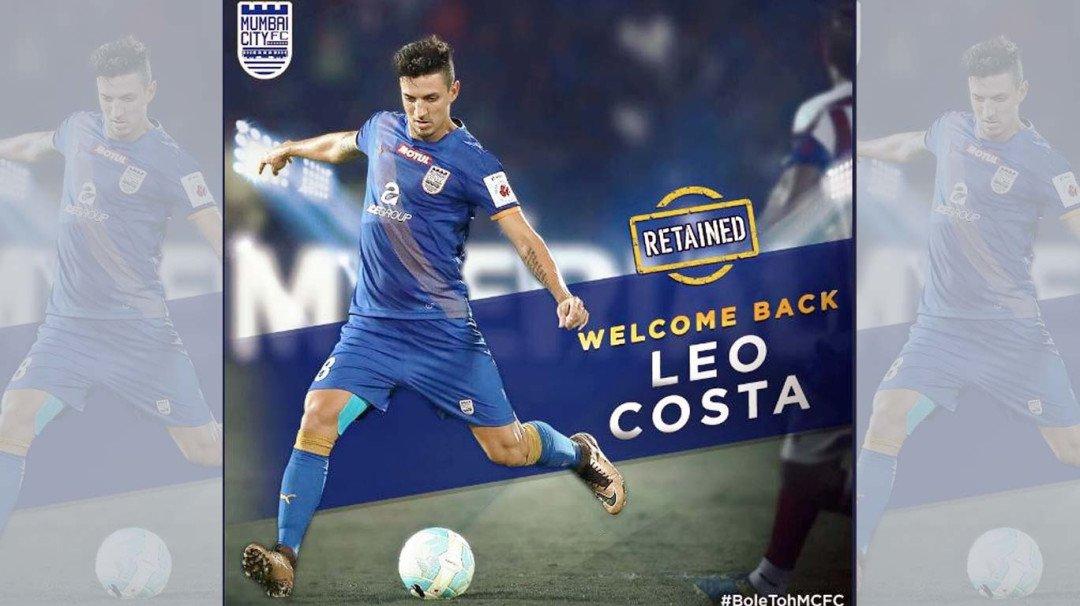 Mumbai City FC retains Leo Costa